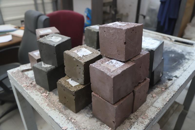 בדיקת בטון קשוי