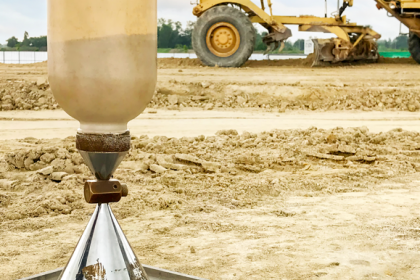 סקרי קרקע לפני בנייה