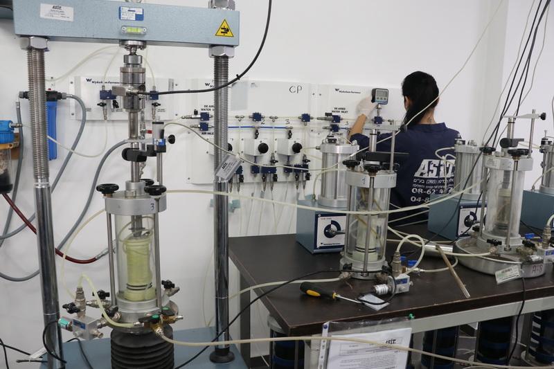 מעבדה גיאוטכנית