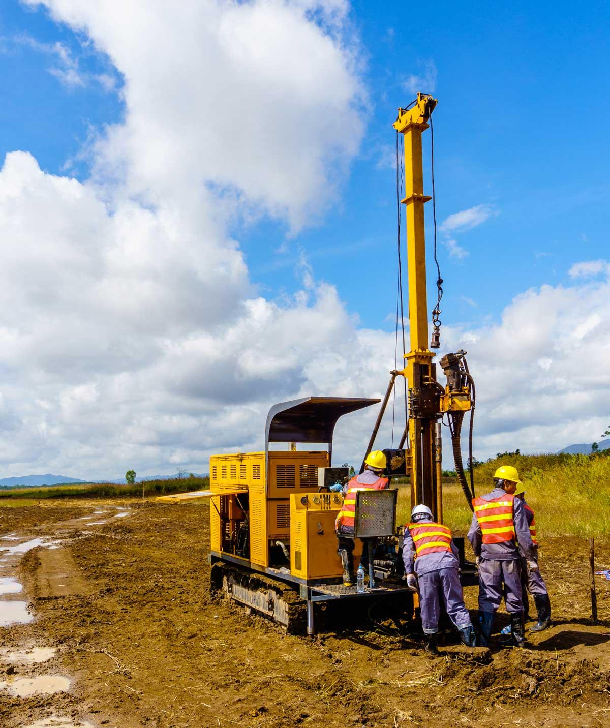 סקרי קרקעות לפני בנייה